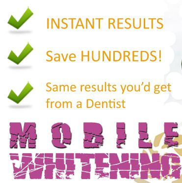 Mobile Teeth Whitening On Demand